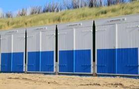 Strandhuisjes in Zoutelande